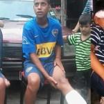 Así reprimen las fuerzas de Macri a una murga de niños con balas de goma
