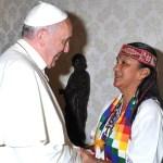 El Papa Francisco se solidariza con Milagro Sala y expresa su preocupación
