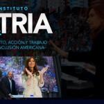 Cristina inauguró el Instituto Patria junto a diputados nacionales e intendentes