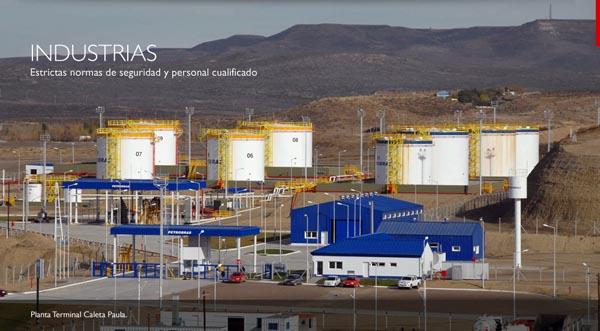 IECSA-PlantaTerminaldePetrobrasenCaletaPaula