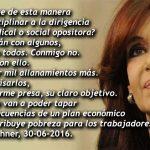 Dura carta de Cristina Kirchner contra el Partido Judicial