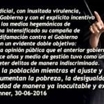 """2da Carta de CFK contra el Partido Judicial: """"Distraen a la población mientras aumenta la pobreza"""""""