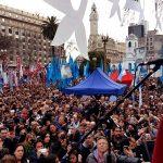 """Hebe ante una multitud: """"Inunden las plazas con la consigna 'Cristina conducción'"""". Discurso completo"""