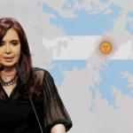 """CFK: """"los recursos que el gobierno pretende ceder a manos británicas, pertenecen a los 40 millones de argentinos"""""""