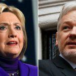 """Julian Assange: """"Bancos, agencias de espionaje, empresas de armas, medios, el gran dinero foráneo, todos están detrás de Hillary Clinton"""""""