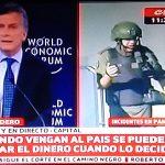 Paro General con represión mientras Macri vende la Argentina en Mini Davos