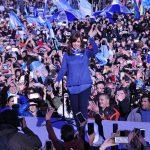 Cristina presentó Unidad Ciudadana ante una multitud: «Para ayudar, construir y organizar»