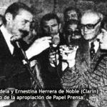 Falleció impune Ernestina Herrera de Noble. Clarín la despidió mintiendo sobre su pasado