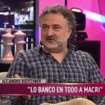 """Alejandro Rozitchner se burló de la canción del hermano de Santiago Maldonado: """"tiene un componente humorístico espantoso"""""""