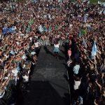 """CFK: """"La fuerza política que dio el derecho a votar a la mujer puso la primera mujer Presidenta"""""""