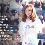 """Cristina: """"El 22 de octubre se elige si el Tercer Senador va a ser Jorge Taiana o Gladys González (PRO)"""""""