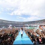 CFK ante 100.000 personas: «Vamos a volver a poner en órbita al Pueblo, a la Patria. Argentina no es una sociedad anónima, es la Patria y es de todos y todas»