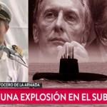 """URGENTE: La Armada confirma que hubo una """"explosión"""" y se busca hundido al Submarino San Juan. Se demoró una semana para confirmar hipótesis inicial"""