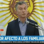 (VIDEO) Vergonzoso: Después de 9 días Macri habló solo 3 minutos y se negó a responder preguntas. Aguad ni siquiera pronunció palabra