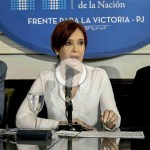 (VIDEO) CFK: «Mauricio Macri es el director de orquesta y Bonadío interpreta la partitura judicial»