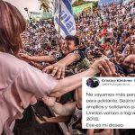 El deseo de Cristina para 2018: «No vayamos más para atrás. Vayamos para adelante. Seamos inteligentes, amplios y solidarios»