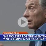 (VIDEO) Indignante: Macri a los familiares del ARA San Juan: «Son cosas que pasan»
