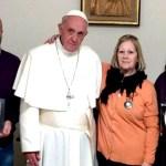URGENTE: Comunicado de la Familia Maldonado tras reunirse con el Papa Francisco