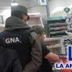 Escándalo: Gendarmería vigila dentro de La Anónima, la cadena de supermercados de Marcos Peña Braun