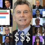 Macri y sus funcionarios se enriquecieron escandalosamente a costa del Estado en dos años de gobierno