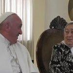 El elogio de Hebe a Francisco: «Está haciendo Historia» y la participación de CTEP, CCC, Barrios de Pie y La Cámpora en Chile