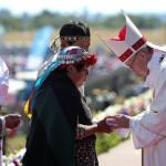 """Desde la Patagonia y junto a pueblos indígenas, Francisco llamó a ser """"artesanos de la unidad"""" para que no gane la """"división"""""""
