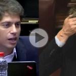 (VIDEO) Kicillof acorraló a Marcos Peña: «Gobiernan desde un country. Caputo es lo de Gilligan multiplicado por diez»
