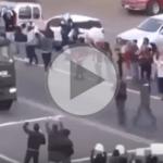 (VIDEO) En defensa de los mineros: Dos pueblos hicieron retroceder la intervención de Gendarmería en Santa Cruz