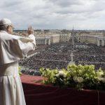 """Francisco pidió en Pascuas poner fin al """"exterminio en Siria"""" y los conflictos en Palestina, Corea del Norte y Venezuela"""