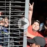 (VIDEO) Néstor Segovia detenido: «Si el subte pierde, perdemos todos»