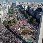 Una multitud de cientos de miles de personas le dijo que no al FMI y a Macri. Documento completo