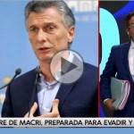 "Macri usó una offshore uruguaya, ""Machir"" para fugar U$S 1500 millones"