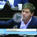 (VIDEO) Axel Kicillof en Diputados: «Parece que «cambiar» era volver al FMI. Este es el mejor equipo de echarle la culpa a otros»