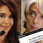 """La nueva profecía de Forbes: """"Si el acuerdo con el FMI fracasa, Cristina vuelve a la Casa Rosada"""""""