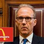 Denuncian a Rosenkrantz como jefe de una asociación ilícita, por beneficiar a McDonald's en perjuicio del Estado por más de $20 millones