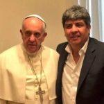 Desde el Vaticano, y con anuencia de Francisco, Pablo Moyano atacó con dureza a Mauricio Macri