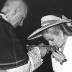 El histórico encuentro de Eva Perón y Angelo Roncalli (futuro papa Juan XXIII)