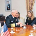 Aguad recibe al Jefe del Comando Sur mientras marines de EEUU entrenan en Argentina