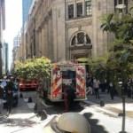 Sospechoso incendio en sede central del Banco Nación: ¿El Gobierno eliminando documentación?