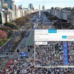 """""""Marcha del millón"""": 200.000 personas del núcleo duro. Macri resignado a meter diputados y escapar de Comodoro Py"""
