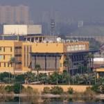 3 misiles impactan en la Embajada de EEUU en Bagdad