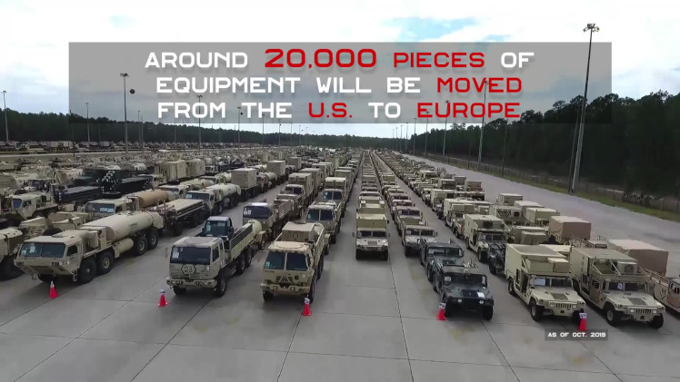 Resultado de imagen para Defender Europe 20