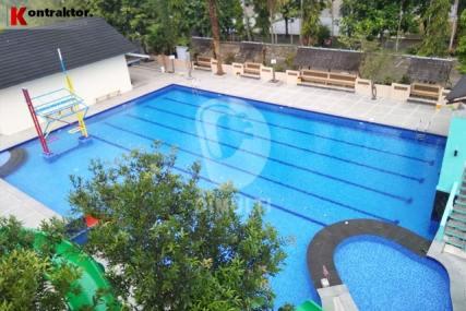 pembuatan kolam renang hotel