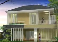 desain bangunan rumah modern