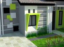 rumah dengan nuansa cat warna baru