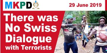There was no Swiss Dialogue with Amba Terrorists