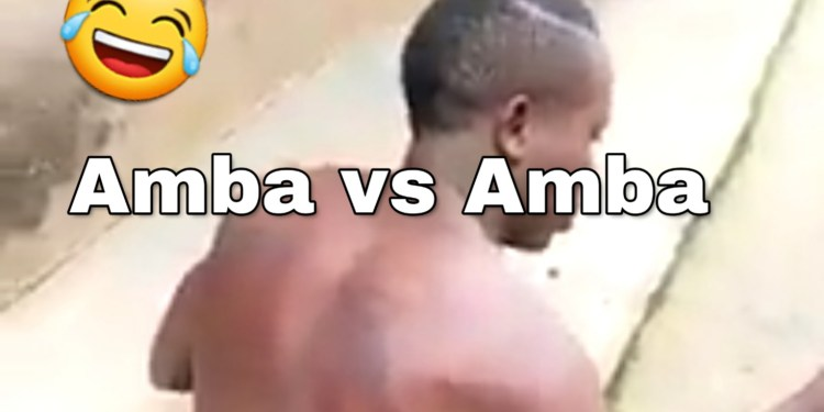 Amba vs Amba LoL. I love it. Wuna must suffer