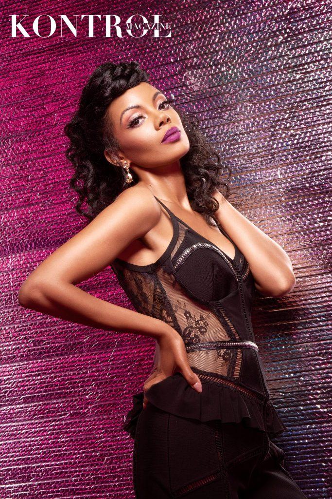 Monique Rodriguez Covers Kontrol Magazine Beauty Issue