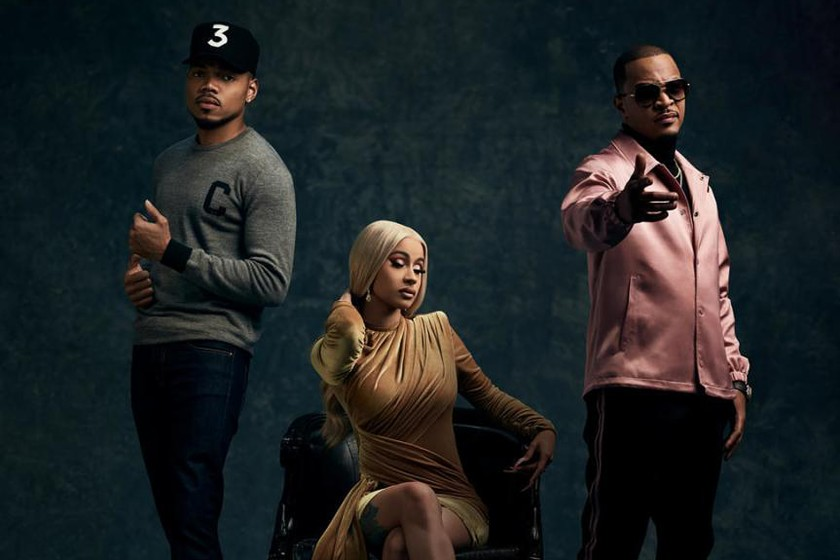 rhythm and flow ti cardi b and chance the rapper