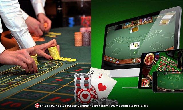 Online casinos versus land-based casinos